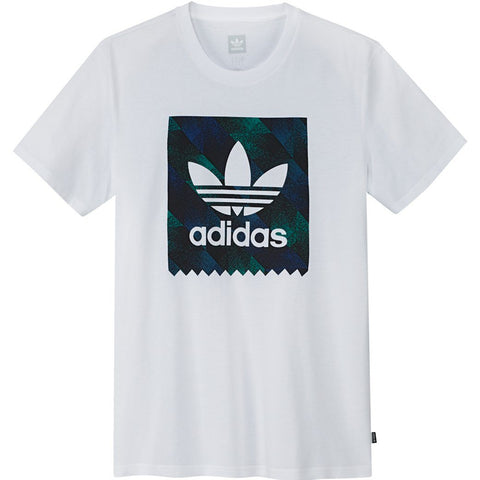 adidas DU8360 Towning BB Solid Tee in White T-Shirts adidas
