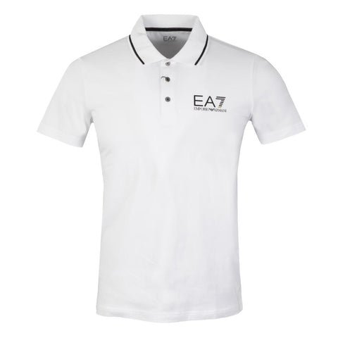 Emporio Armani EA7 Polo Shirt in White Polo Shirts Emporio Armani EA7