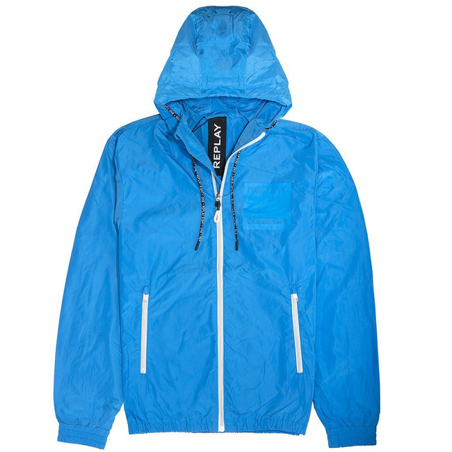 Replay Patch Jacket in Blue