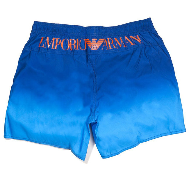 Emporio Armani Beachwear Swim Trunks in Turquoise Swimwear Edwards Menswear