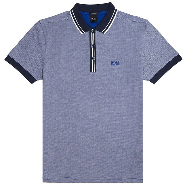 BOSS Athleisure Paddy 2 Polo Shirt in Blue Polo Shirts BOSS