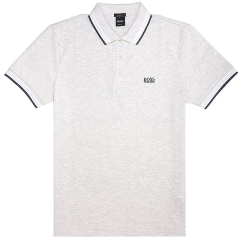 BOSS Athleisure Paddy Polo Shirt in Grey