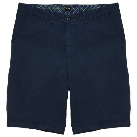 BOSS Regular Fit Bright-D Shorts in Navy Shorts BOSS