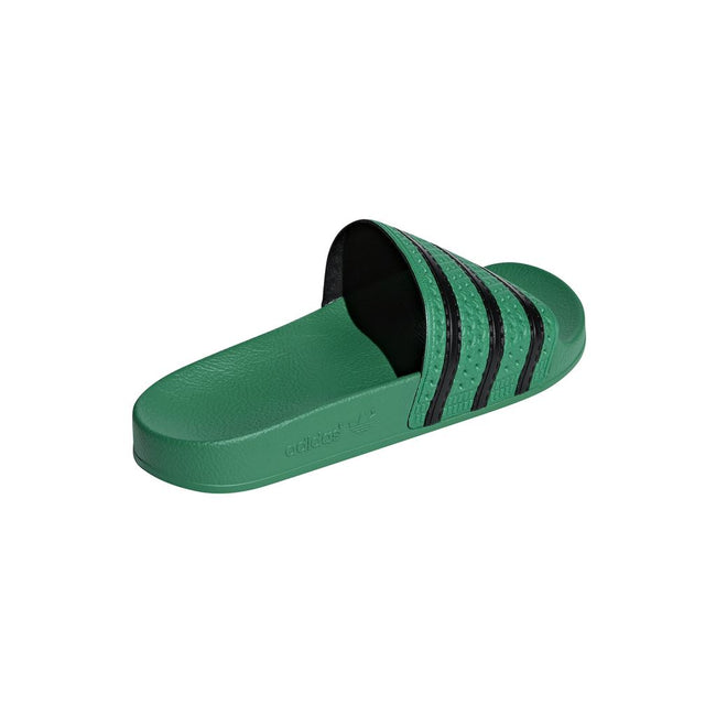 Adidas Adilete CM8443 Sliders in Dark Green / Black Flip Flops adidas