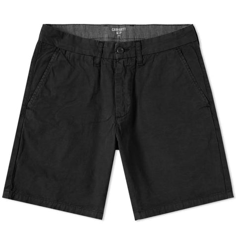 Carhartt John Shorts in Black Shorts Carhartt
