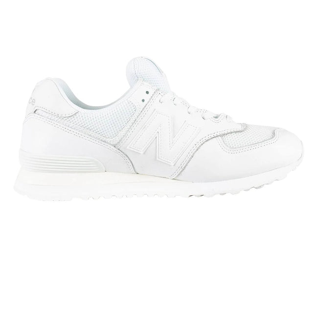 New Balance 574 Leather Trainers in White