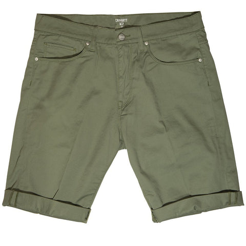 Carhartt Swell Shorts in Dollar Green Shorts Edwards Menswear