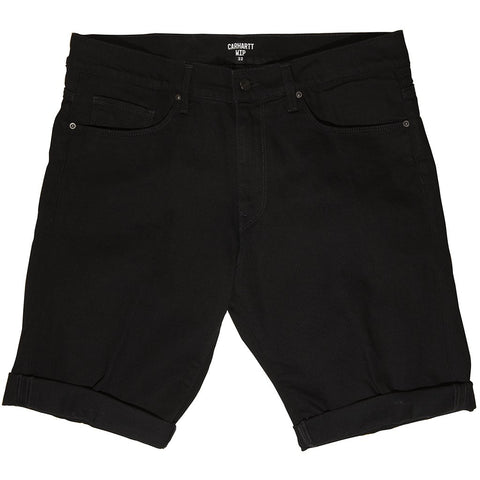 Carhartt Swell Shorts in Black Shorts Edwards Menswear
