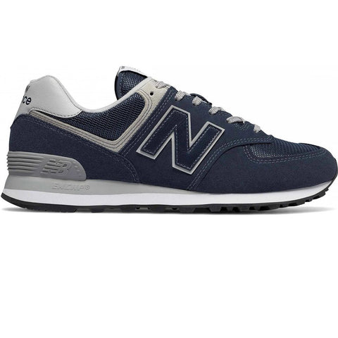 New Balance 574 Core Trainers in Navy Trainers New Balance