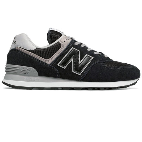 New Balance 574v2 Core Trainers in Black Trainers Edwards Menswear