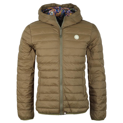 Pretty Green Barker Jacket in Khaki Coats & Jackets Pretty Green