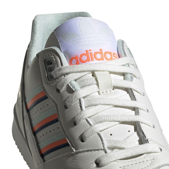 adidas D98157 A.R. Trainer in Cloud White / Ice Mint / Solar Orange Trainers adidas