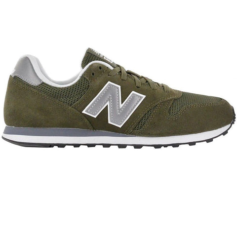 New Balance 373 Trainer in Olive/ Silver Trainers New Balance