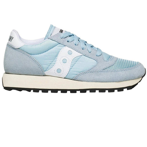 Women's Saucony Original Vintage Trainer in Blue/ White Trainers Saucony