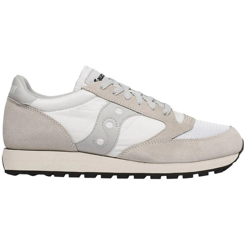 Women's Saucony Original Vintage Trainer in White Trainers Saucony Women's