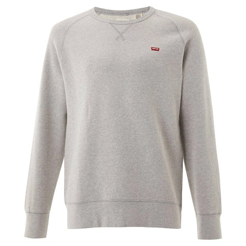 Levi's Original Hallmark Icon Crew Sweatshirt in Grey sweatshirt Levi's