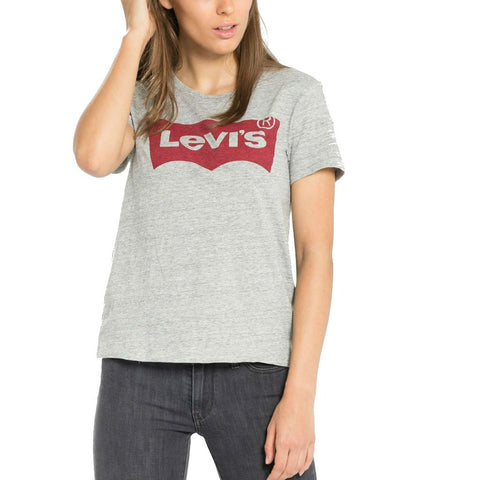 Women's Levi's Perfect T-Shirt in Grey T-Shirts Levi's