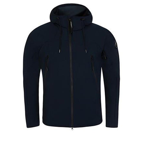 Pro Tek Arm Lens Jacket in Eclipse Navy Coats & Jackets CP Company