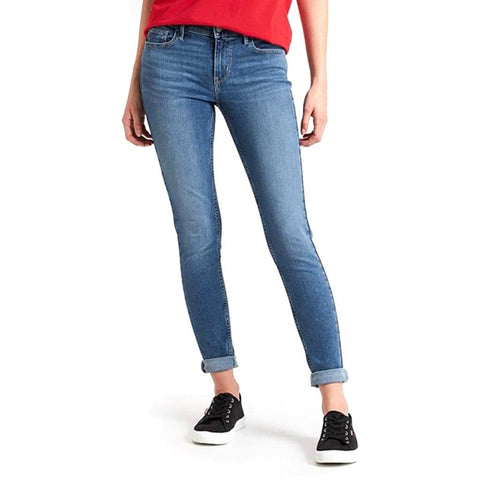 710 Innovation Super Skinny Jeans in Blue Women's Jeans Levi's Women's