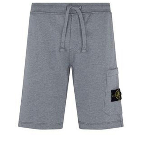 Lightweight Fleece shorts in Grey Shorts Stone Island