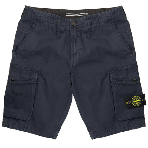 Cargo Shorts in Blue Shorts Stone Island