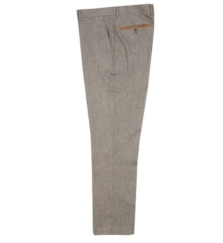 FTR.1009 Tan Tweed Trousers Trousers Edwards Menswear