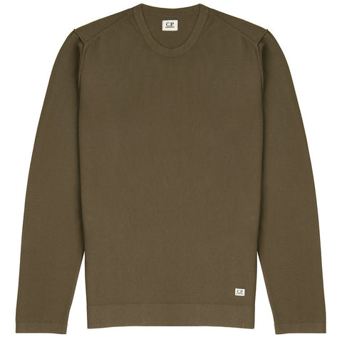 Crew Neck Light Weight Jumper In Beech Jumpers CP Company