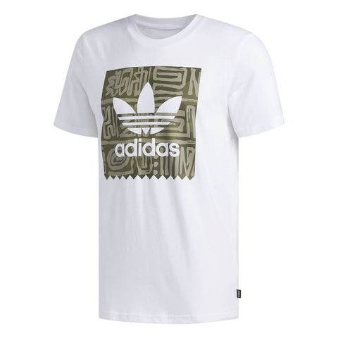 DU8353 Dakari BB T-Shirt in White T-Shirts adidas