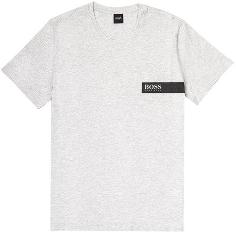 T-Shirt RN Relaxed Fit in Grey T-Shirts BOSS