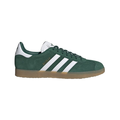DA8872 Gazelle Shoes in Collegiate Green / Ftwr White / Gum 3 Trainers adidas
