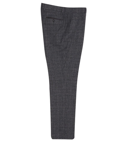 FTR.1010 Dark Grey Check Tweed Trousers Trousers Fratelli Uniti