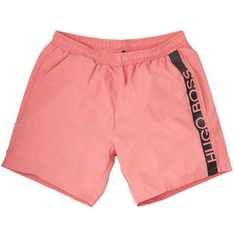 Dolphin Swimming Shorts in Light Pink Swimwear BOSS