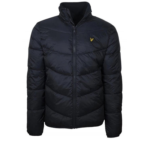 Funnel Neck Puffer Jacket in Dark Navy Coats & Jackets Lyle & Scott
