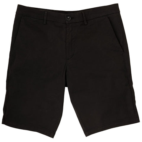 Liem Slim Fit Stretch Shorts in Black Shorts BOSS