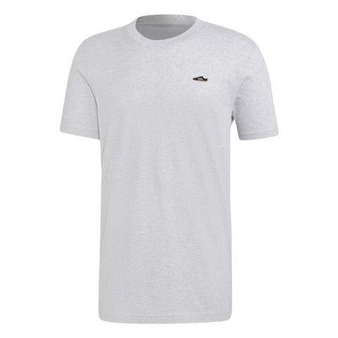 ED7639 Mini Trainer Emblem T-Shirt in Grey Heather T-Shirts adidas