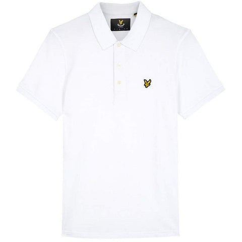 Polo Shirt in White Polo Shirts Lyle & Scott