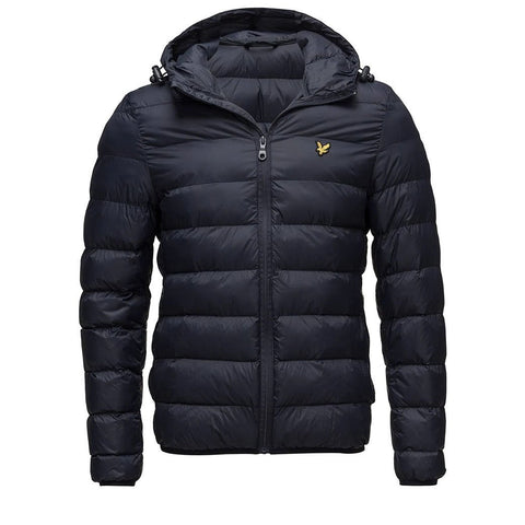 Lightweight Puffer Jacket in Dark Navy Coats & Jackets Lyle & Scott