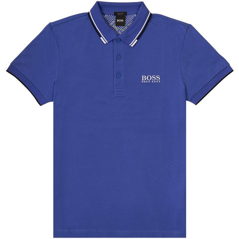 Athleisure Paddy Pro Polo Shirt in Blue Edwards Menswear