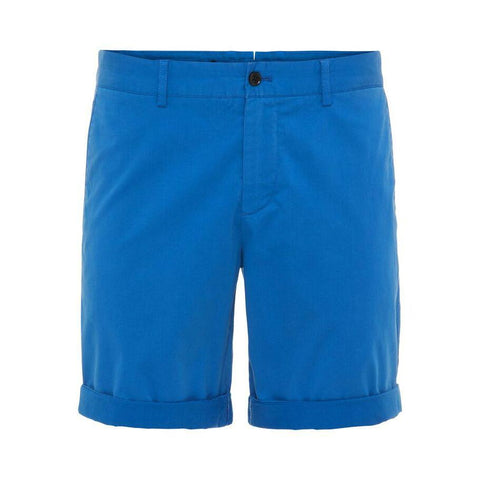 Nathan Satin Shorts in Work Blue Shorts J. Lindeberg