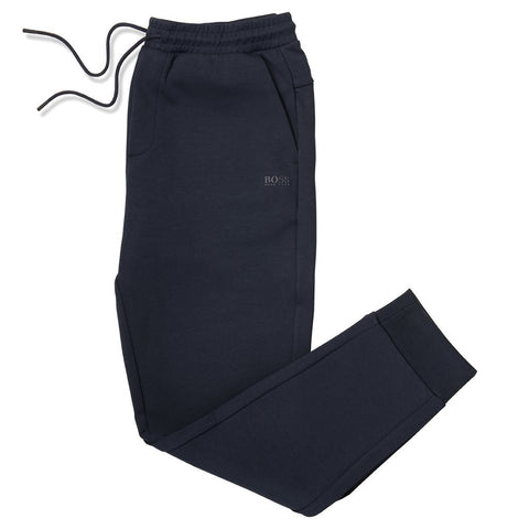 Athleisure Hadiko Slim-Fit Joggers in Navy Joggers BOSS