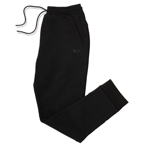 Athleisure Hadiko Slim-Fit Joggers in Black Joggers BOSS