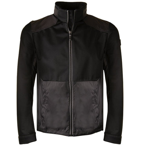 Athleisure Cabeza Lightweight Water-repellent Jacket in Black Jacket BOSS