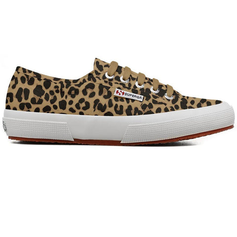 2750 COTU Fantasy Shoes in Classic Leopard Trainers Superga Women's
