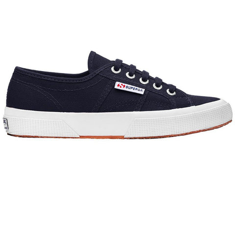2750 COTU Classic Shoes in Navy/ White Trainers Superga Women's