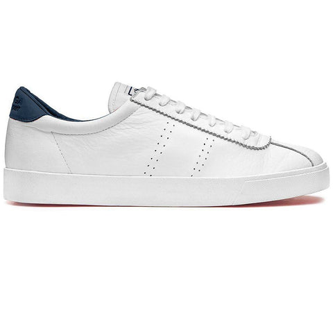 2843 SPORT Club S Shoes in White/ Navy Trainers Superga