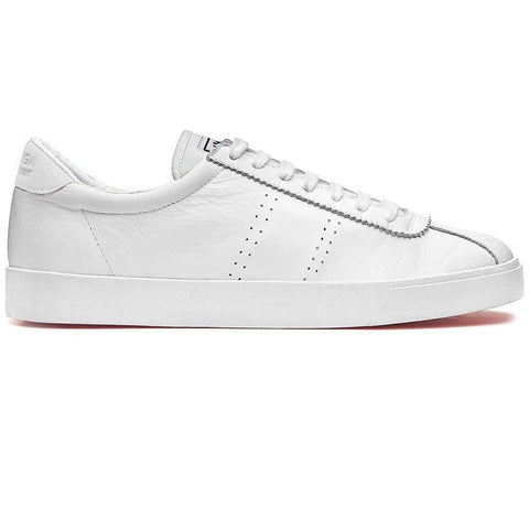 2843 SPORT Club S Shoes in Full White Trainers Superga