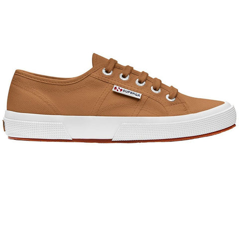 2750 COTU Classic Shoes in Brown Curcuma Trainers Superga