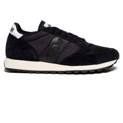 Jazz Original Vintage Trainer in Black/ Black Trainers Saucony Women's