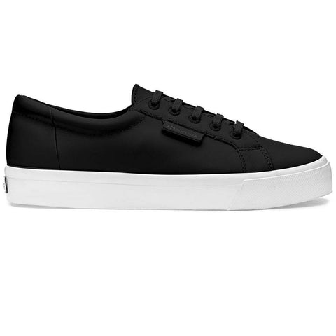 2804 NAPPAU Leather Trainers in Black Trainers Superga