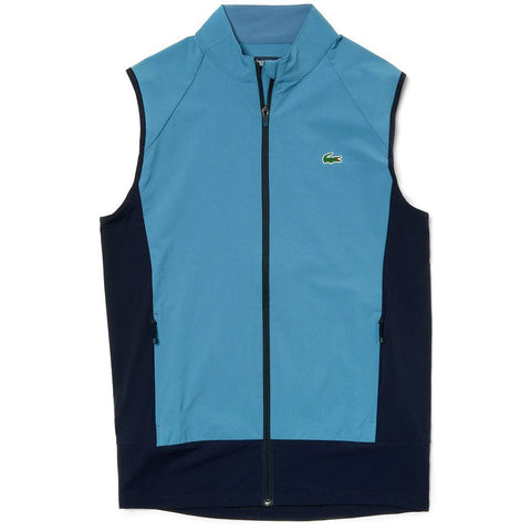 BH3356-A4Y Quilted Vest in Blue / Navy Gilet Lacoste Sport